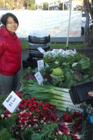 New arrival Season from Taiwan helping in Albany Farmers Market